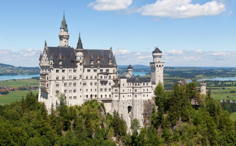 Egy mesebeli kastély: Neuschwanstein