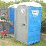 Mobil wc tisztítás