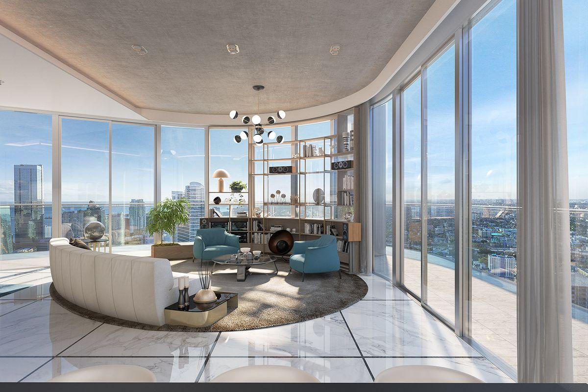 A penthouse a legdrágább lakások kategóriájába tartozik.